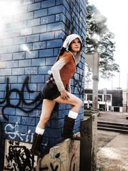 Kat cosplay, from DmC: Devil may Cry by ThamySorel