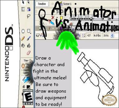 Animator vs. Animation DS Game by YoshiOG1