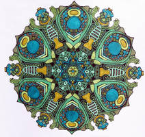 mandala jim's mandala colored by merpagigglesnort