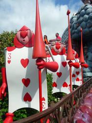 Disneyland Paris - Alice in Wonderland -18- by Maliciarosnoir-stock