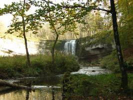 Cascade de l'herisson -3- by Maliciarosnoir-stock