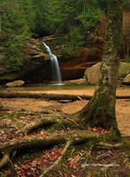 Lower Falls Dec 07 by TRBPhotographyLLC