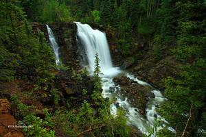 Waterfall on Wilson Creek by TRBPhotographyLLC