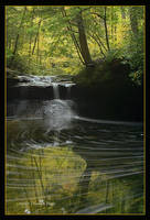 Creation Falls by TRBPhotographyLLC