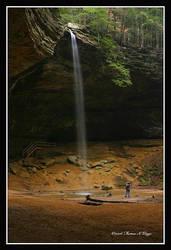 Falls at Ash Cave by TRBPhotographyLLC