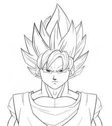 Goku SSJ by Shafo86