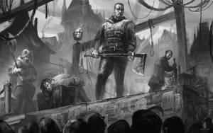 Execution Scene by DartGarry