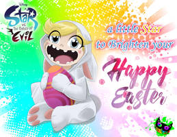 Star VS the Forces of Evil - Easter by Silent-Sid