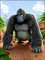 Gorilla by digitalrebelstudio