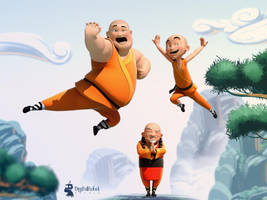 Holymonks Adventures show by digitalrebelstudio