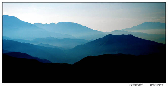 My Mountains by GeraldWinslow