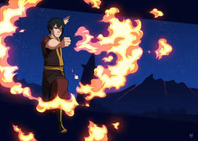 Commission - Zuko by Blue-Ten