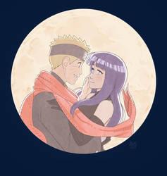 Naruto and Hinata - The Last by Blue-Ten