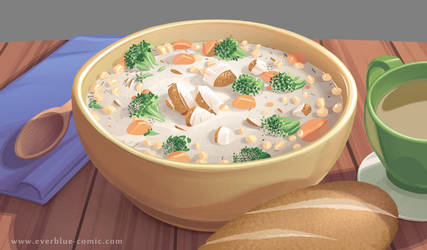 Everblue - Delicious Soup by Blue-Ten