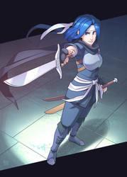 Commission - Reka by Blue-Ten