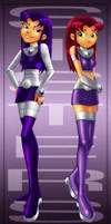 Two Sides - Star and Blackfire by Blue-Ten