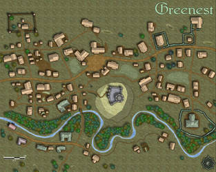 The Town Of Greenest By Irondrakex On Deviantart