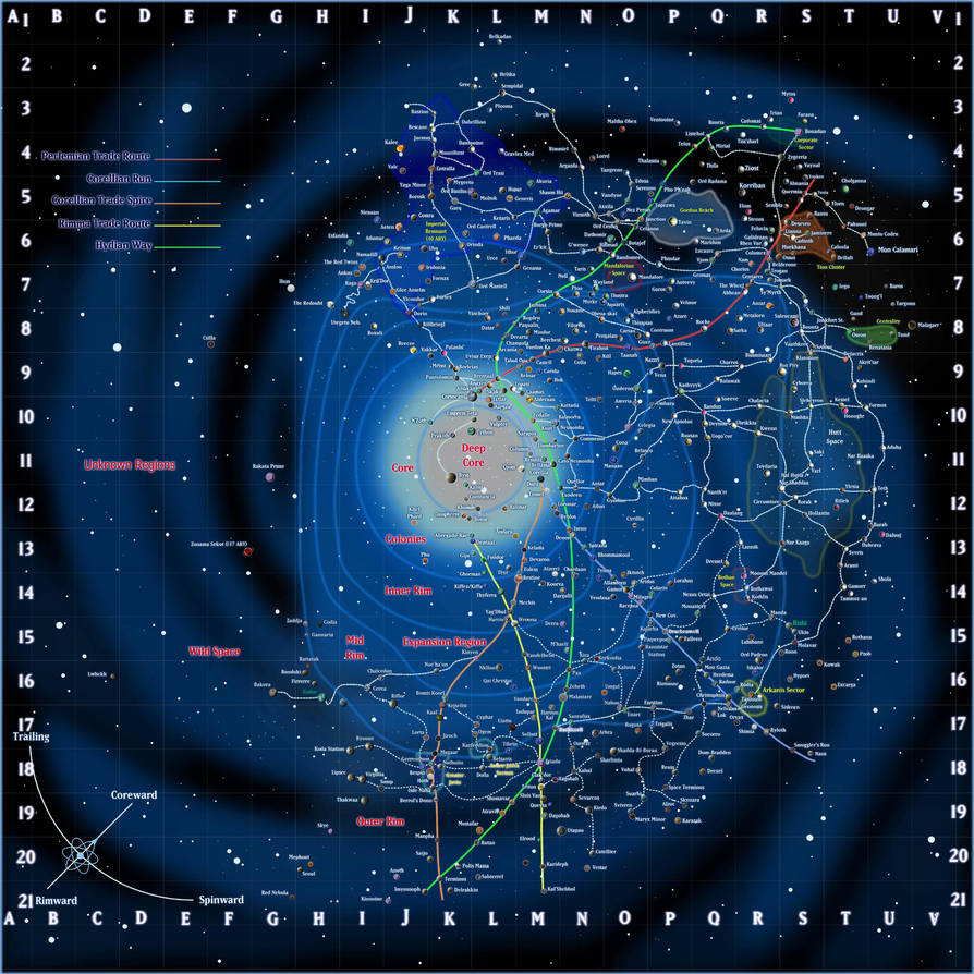 Star-Wars-Galaxy by IrondrakeX