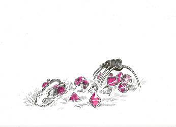 Dino dice by TheShinyOne333