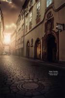 Praha Street by Dzodan