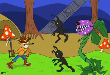 Crash Bandicoot x Kingdom Hearts by Rodman1901