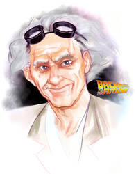 Doc Brown by DarthTerry