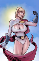 PowerGirl 2014 by DarthTerry