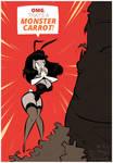 Inktober2017 - 22 - Bunny Girl - Monster Carrot by HugoTendaz