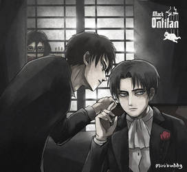 Eren and Levi -Attack on Titan by minibuddy