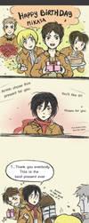 Mikasa's Birthday! Shingeki no Kyojin by minibuddy