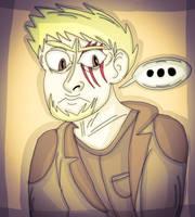 Jason. (Annoyed.) by 21WolfieProductions
