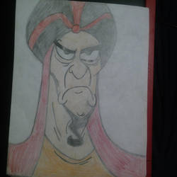 Jafar. (Aladdin) by 21WolfieProductions