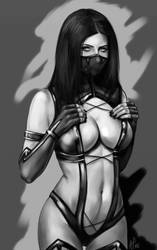 Mileena by Mister69M