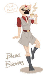 Blend Brewing - Art Trade by Tristikov