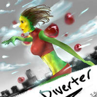 Diverter By Suspended Reflections by Troubleseeker