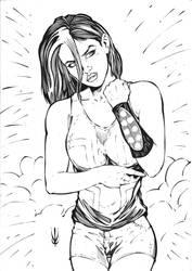 Amy Thatchen by Lu by Troubleseeker