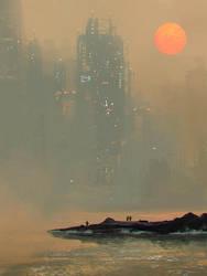 Environment sketch by VictorMosquera