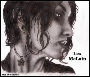 Lex McLain by Gyreck