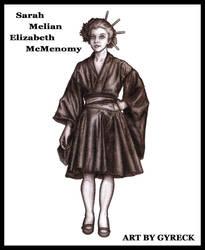 Sarah Melian Elizabeth McMenomy by Gyreck
