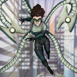 Lady Octopus Spider-Man: Into the Spider-Verse by JeyraBlue