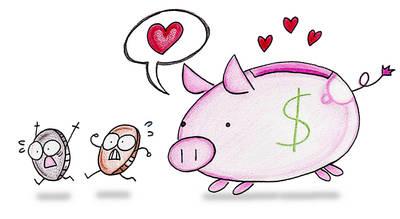 Money love by atomiccatz