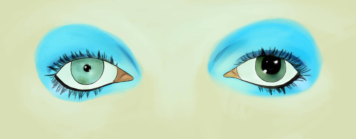 David Bowies Eyes By Oblomsky On Deviantart