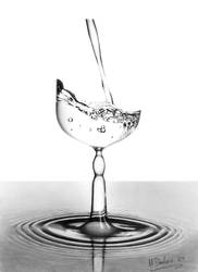 A Glass of Water........is it? by MattDeakinFineArt