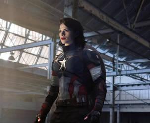Captain America by amyisalittledecoy