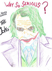 Joker_Heath Ledger by gothicrocker84