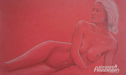 Lady on red by STONEDAssassin69