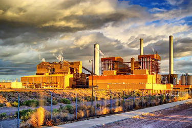 Power Plant Industrial 0920 HDR by WolfArtistic
