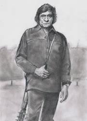Johnny Cash by Richard-M-Williams