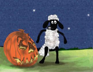 Shaun's Halloween by teddybearcholla