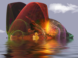 Rainbow summer by teddybearcholla